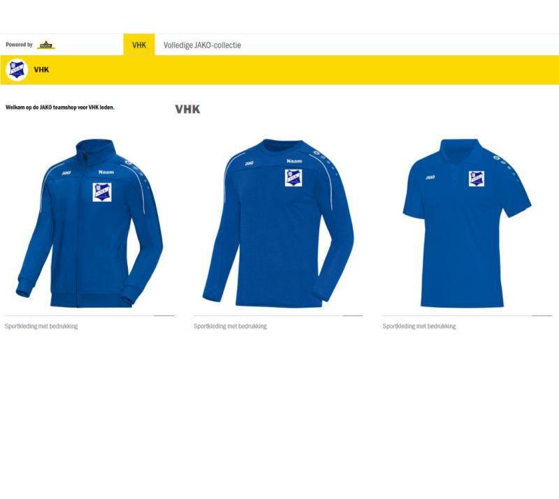 VHK en Rook Bedrijfskleding lanceren shop voor leden.